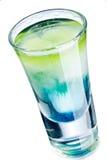 Kolorowy strzału napój Zdjęcia Royalty Free