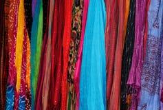 Kolorowy szalik Fotografia Stock