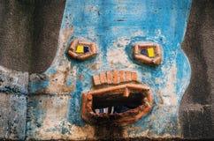 Kolorowy szczegół Hundertwasser dom w Wiedeń, Austria Zdjęcia Stock