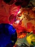 Kolorowy szklany sufit Fotografia Stock