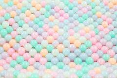 Kolorowy szklanych koralików tło Obrazy Stock