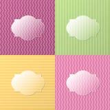 Kolorowy szklisty tło Obrazy Stock