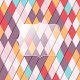 Kolorowy szklisty tło Fotografia Stock