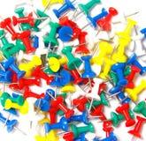 Kolorowy szpilki zakończenie up Obrazy Royalty Free