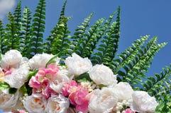 Kolorowy sztucznego kwiatu bukiet Obraz Stock