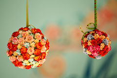 Kolorowy sztuczny kwiat Zdjęcie Royalty Free