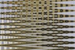 Kolorowy, tęcza, abstrakcjonistyczny tło szklana tekstura ustawić równolegle do wally Zdjęcia Stock