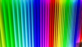 Kolorowy tęcza koloru tło Obraz Royalty Free