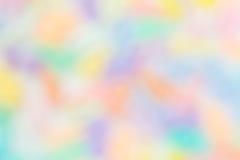Kolorowy tęczy plamy tło Obraz Royalty Free