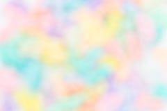 Kolorowy tęczy plamy tło Zdjęcia Royalty Free