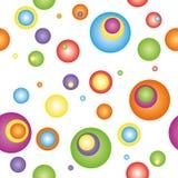 kolorowy tło abstrakcjonistyczny okrąg Zdjęcia Stock