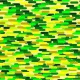 Kolorowy tło, dziecka ` s wojska bezszwowy wzór, przebranie ilustracja wektor