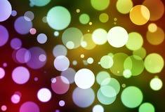 kolorowy tła abstrakcjonistyczny bokeh Obraz Royalty Free
