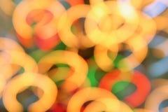 kolorowy tła bokeh Zdjęcie Stock