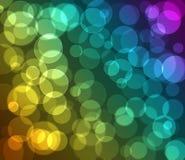 kolorowy tła bokeh Obraz Royalty Free