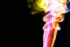 kolorowy tło dym Obrazy Stock
