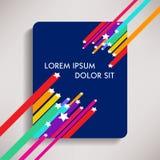 Kolorowy tło szablon Zdjęcie Stock