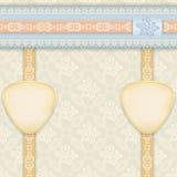 Kolorowy tło z kwiecistym wzorem royalty ilustracja