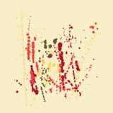 Kolorowy tło z punktami Zdjęcie Royalty Free