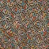 Kolorowy tajlandzki jedwab handcraft peruvian dywanika powierzchni stylowego zakończenie w górę Więcej ten motywu & więcej tkanin Fotografia Stock