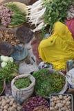 kolorowy targowy warzywo Obrazy Stock