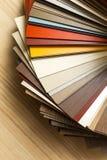 Kolorowy tekstura wzór i kolor paleta - Swatches wybierać od fotografia royalty free