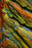 Kolorowy textured rockowy tło obrazy stock