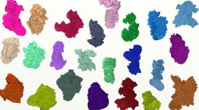 Kolorowy textured tło, Abstrakcjonistyczny kolorowy, tła & tekstury/ Obraz Royalty Free