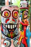 kolorowy totem Fotografia Stock