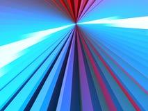 kolorowy tunel Zdjęcie Stock