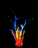 kolorowy uszeregowanie Obraz Royalty Free
