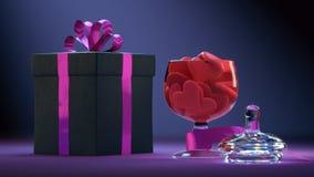 Kolorowy Valentine&-x27; s dzień ilustracji