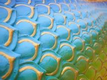 Kolorowy wąż lub smok ważymy tekstury tło Obraz Stock
