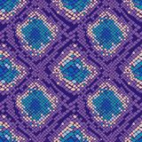 Kolorowy wąż skóry tekstury bezszwowy deseniowy powtarzać bezszwowy Modny druk, elegancki tło ilustracja wektor