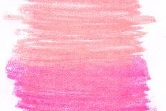 Kolorowy węgiel drzewny na białego papieru tekstury tle Obraz Stock