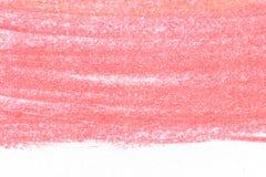 Kolorowy węgiel drzewny na białego papieru tekstury tle Obrazy Stock