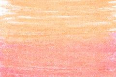 Kolorowy węgiel drzewny na białego papieru tekstury tle Zdjęcia Royalty Free