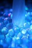 Kolorowy włókno okulistyczny. zdjęcie stock