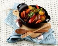 Kolorowy warzywa Ragout Zdjęcie Royalty Free
