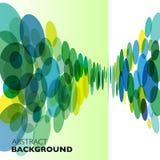 Kolorowy wektorowy abstrakcjonistyczny geometryczny tło royalty ilustracja