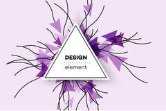 Kolorowy Wektorowy tło Z Abstrakcjonistycznymi Komputerowymi mysz kursorami Atrakcyjna Konceptualna ilustracja Dla interneta Obraz Royalty Free