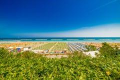 Kolorowy widok plaże zdjęcie royalty free