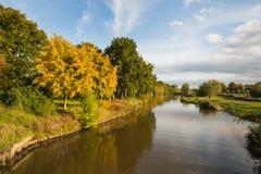 Kolorowy widok w sezonie jesiennym Fotografia Royalty Free