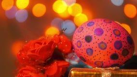 Kolorowy Wielkanocny Paschalny jajka świętowanie zbiory
