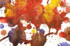 kolorowy wielo- tła Obraz Royalty Free