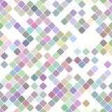 Kolorowy wielostrzałowy przekątna kwadrata wzoru tła projekt - wektorowa grafika ilustracji