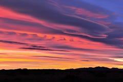 kolorowy wschód słońca Zdjęcia Stock