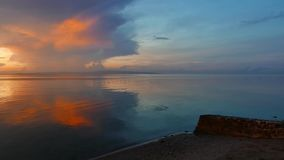 Kolorowy wschód słońca 06 zdjęcie wideo