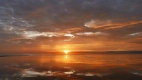 Kolorowy wschód słońca 08 zbiory wideo