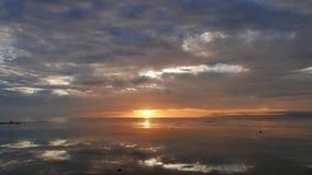 Kolorowy wschód słońca 10 zbiory wideo